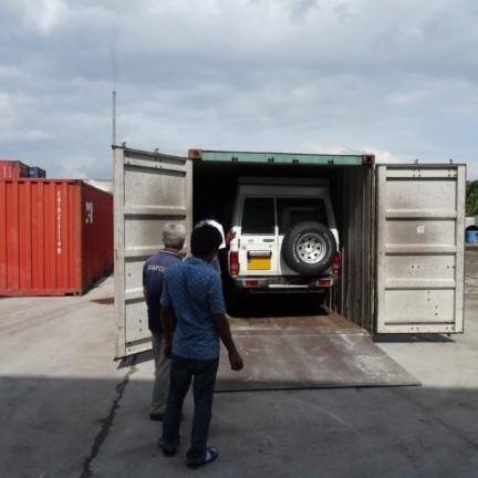 Port Klang - Kuipwagen is still in OK