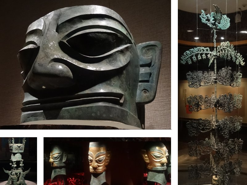Chengdu - Sanxindui museum