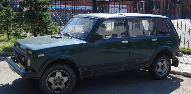 Barnaul - verlengde Niva 2131