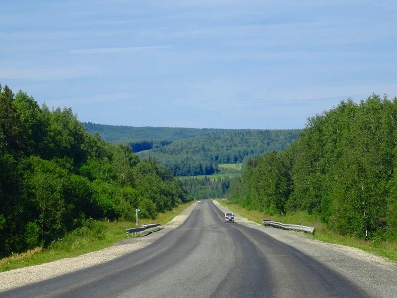 Ekaterinburg naar Kungur - Oeral landschap