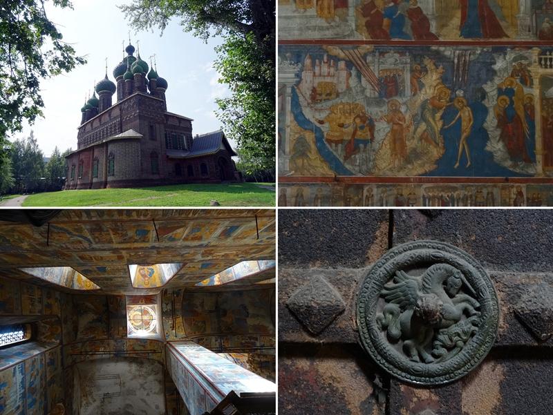 Jaroslavl - Johannes de doper kerk