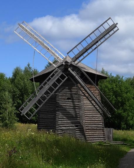 Khokhlovka - architectuur&ethnografisch museum - windmolen