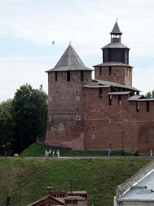 Nizhny Novgorod - kremlin muur