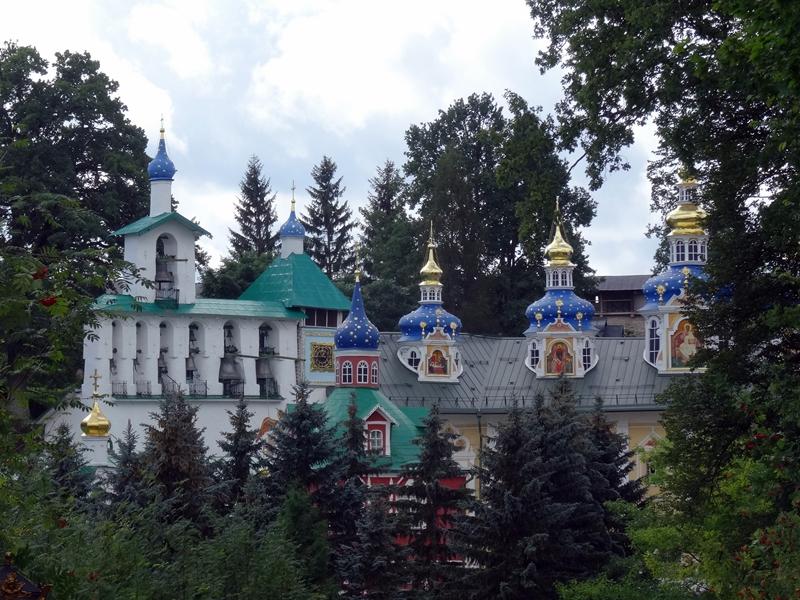 Pechory - Klooster - Intercession Kerk