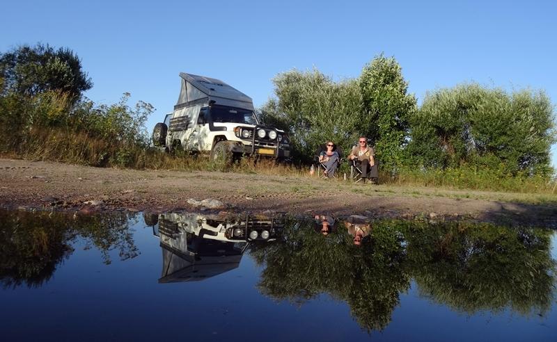 Rabocheostrovsk naar Pushkin - kamperen