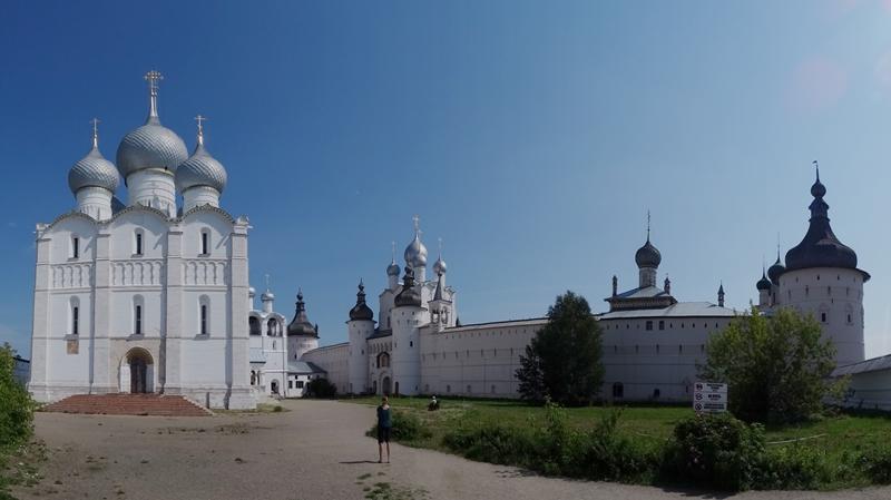 Rostov - Assumption Kathedraal en kremlin