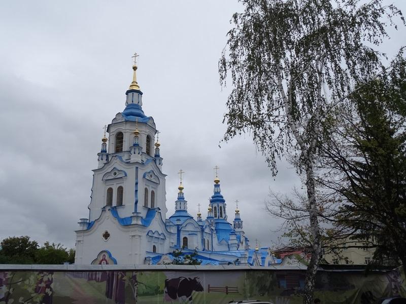 Tyumen - Znamensky kathedraal
