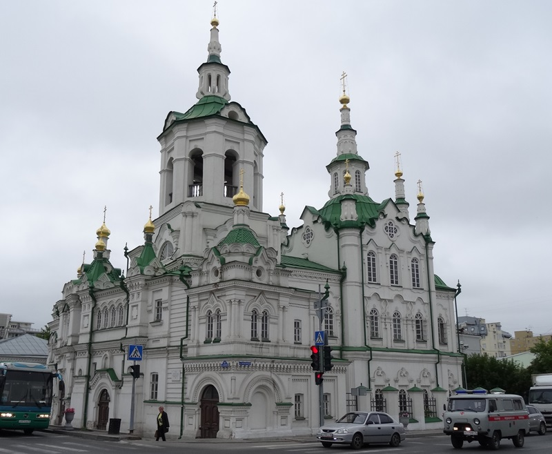Tyumen - saviour's church