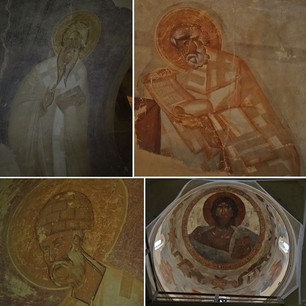 Velikiy Novgorod - Transfiguratie kerk - fresco's van Theophanes
