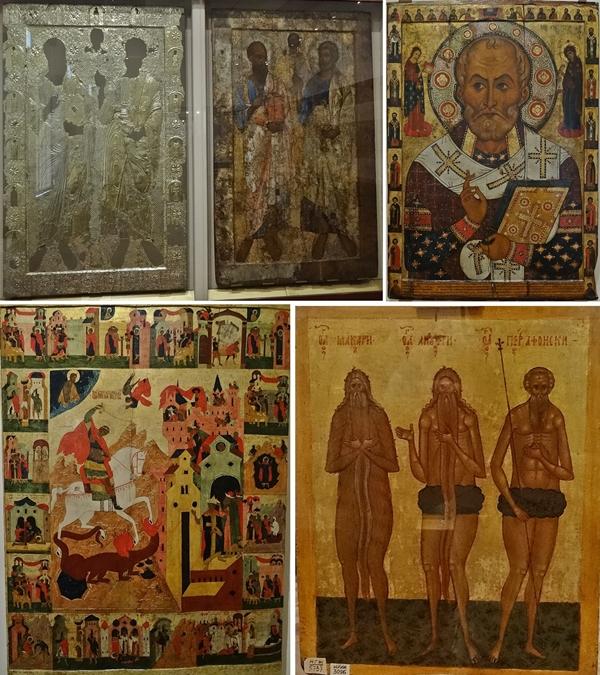 Velikiy Novgorod - kremlin - fresco museum