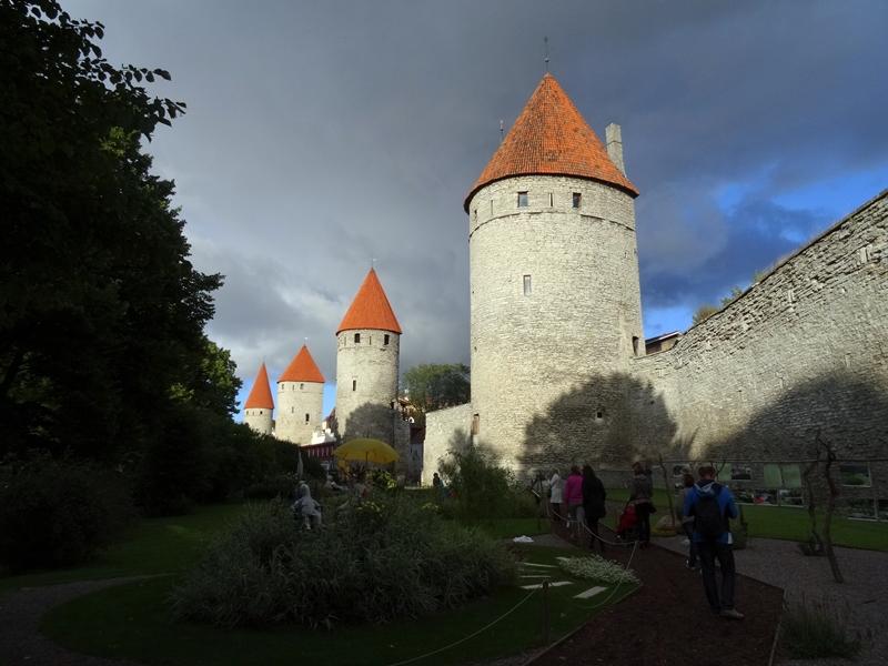 Tallinn - Lagere stadsmuur
