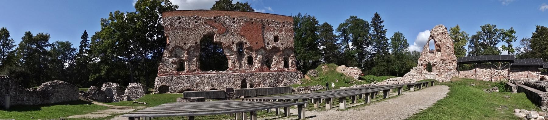 Viljandi - Kasteel van de Orde